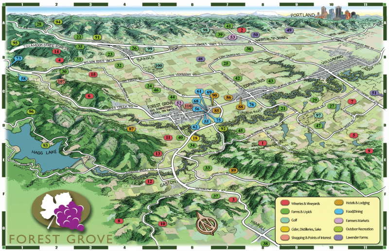 Forest Grove Maps | Forest Grove Oregon